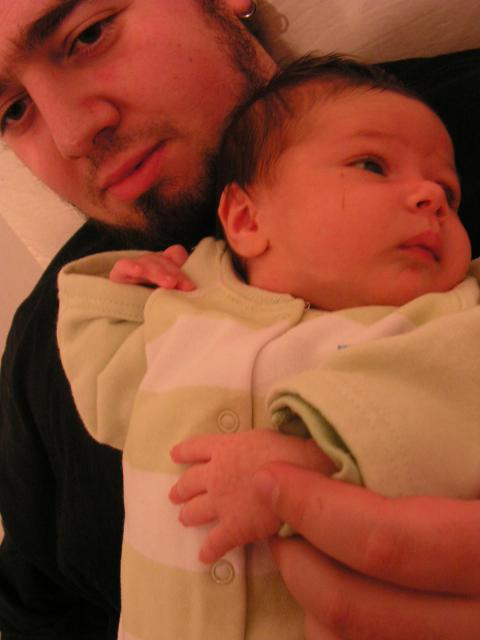 yael and daddy